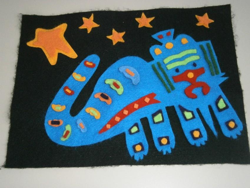 Huichol Art Center Art of The Huichol Amp Kuna Indians Week 9