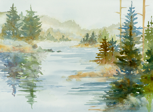 Durham arts council beginning watercolor painting ages for How to use watercolors for beginners