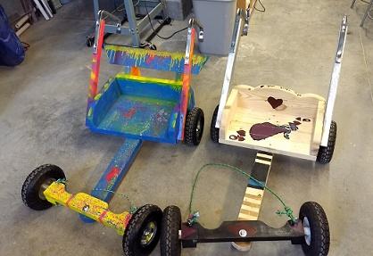 Visual Arts Center of Richmond | Making Wooden Go-Karts